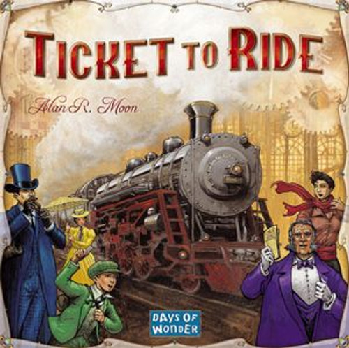 Ticket to Ride (Dinged/Dented - 20% off at checkout)