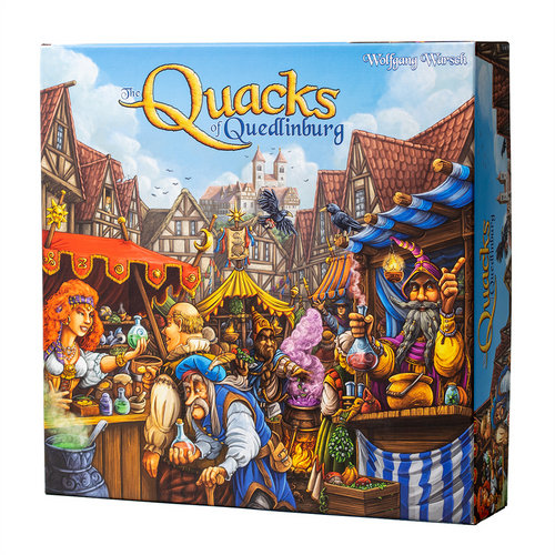 The Quacks of Quedlinburg(New Version) (Dinged/Dented - 20% off at checkout)