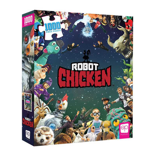 Robot Chicken It Was Only a Dream 1000 Piece Puzzle