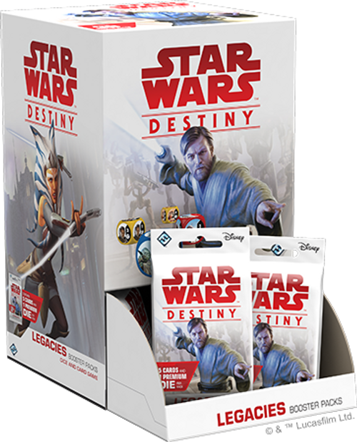 Star Wars Destiny: Legacies Booster Pack Display