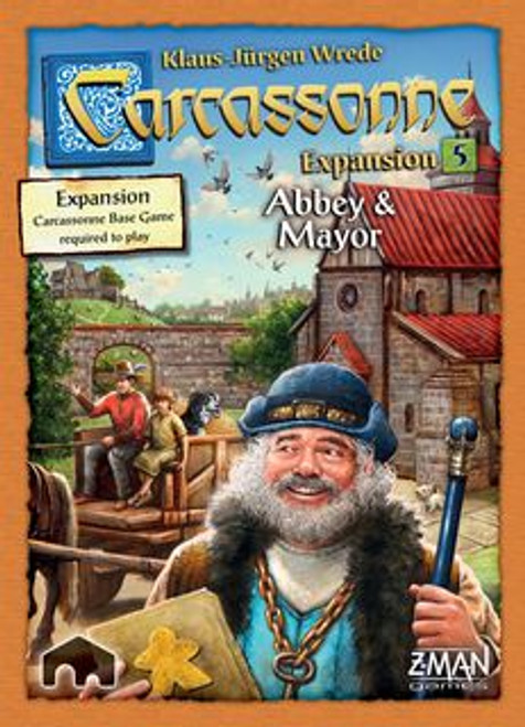 Carcassonne: Expansion 5 - Abbey & Mayor