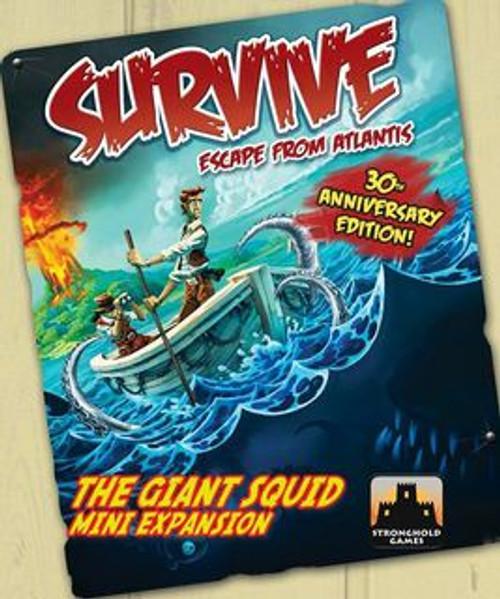 Survive: Escape from Atlantis! The Giant Squid Mini Expansion