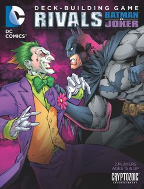 DC Comics Deck-Building Game: Rivals - Batman vs The Joker