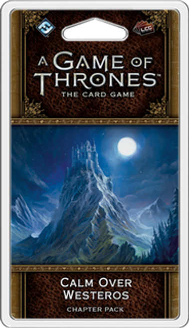 A Game of Thrones: The Card Game (Second Edition) - Calm over Westeros