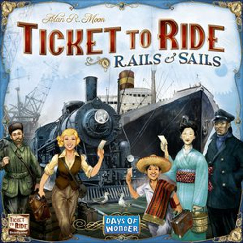 Ticket to Ride: Rails to Sails