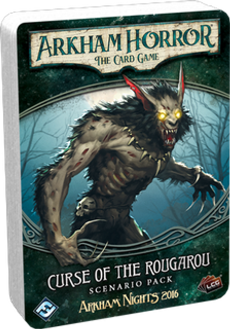 Arkham Horror: The Card Game - Curse of the Rougarou Scenario Pack