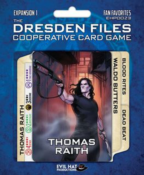 The Dresden Files Cooperative Card Game: Fan Favorites