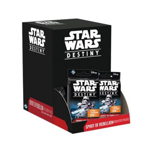 Star Wars: Destiny - Spirit of Rebellion Booster Pack Display