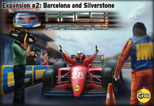 Race! Formula 90: Expansion #2 - Barcelona and Silverstone