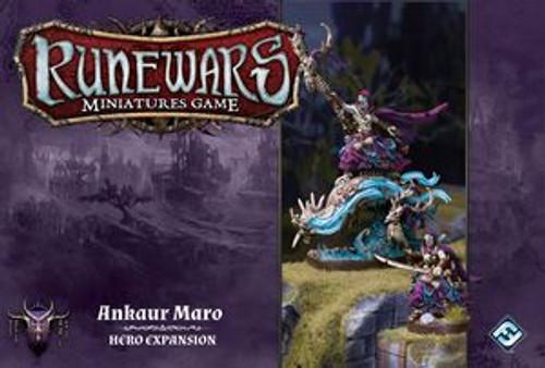 Runewars Miniatures Game: Ankaur Maro - Hero Expansion