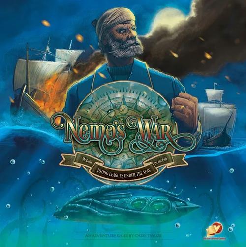 Nemo's War (Second Edition) board game