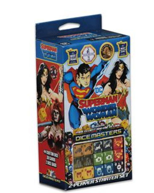 DC Comics Dice Masters: Superman and Wonder Woman Starter Set