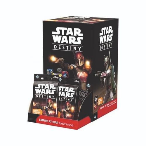 Star Wars: Destiny Empire at War Booster Pack Display