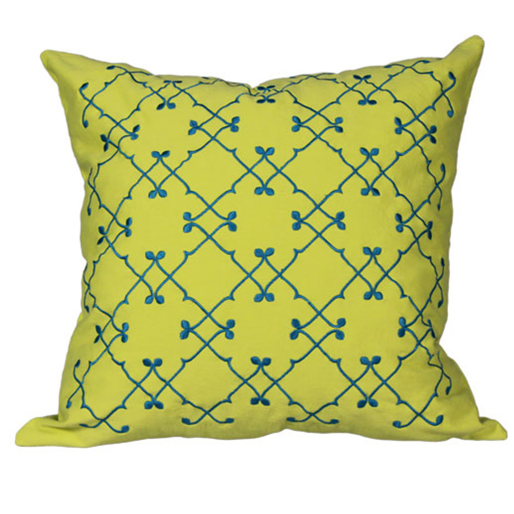 Olya pillow, Yellow