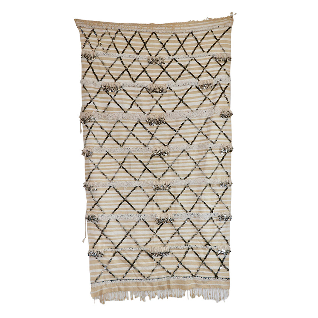 Moroccan Berber Wedding Blanket M-390