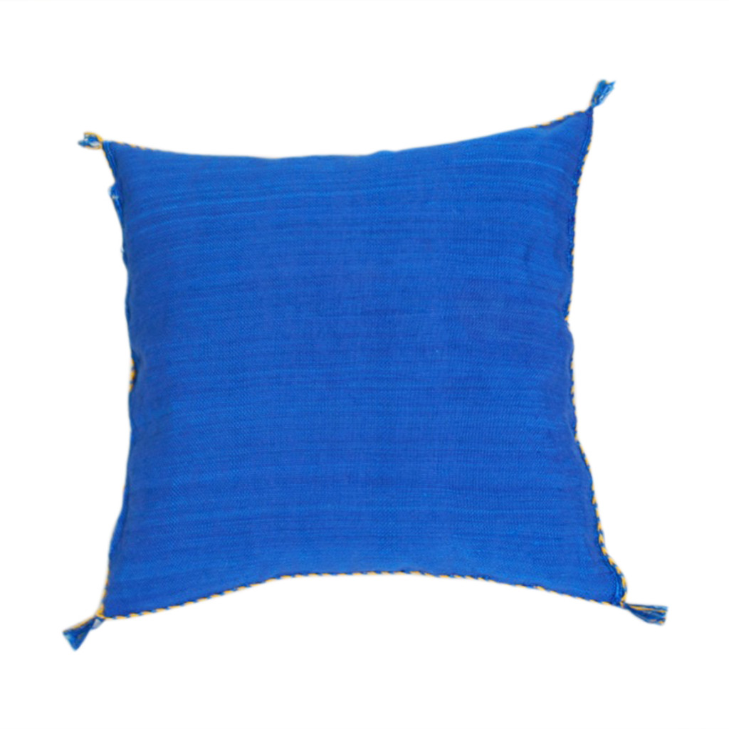 Sabra Throw Pillow, Cobalt  Blue