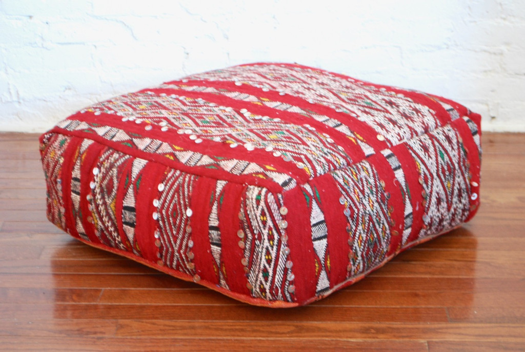 Moroccan Kilim Floor Pillow