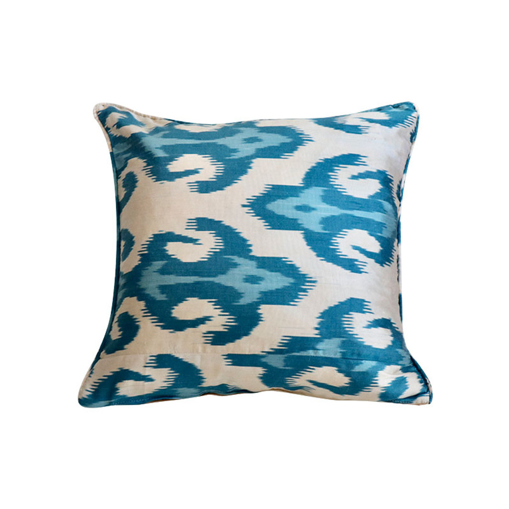 Ikat Pillow- Mykonos