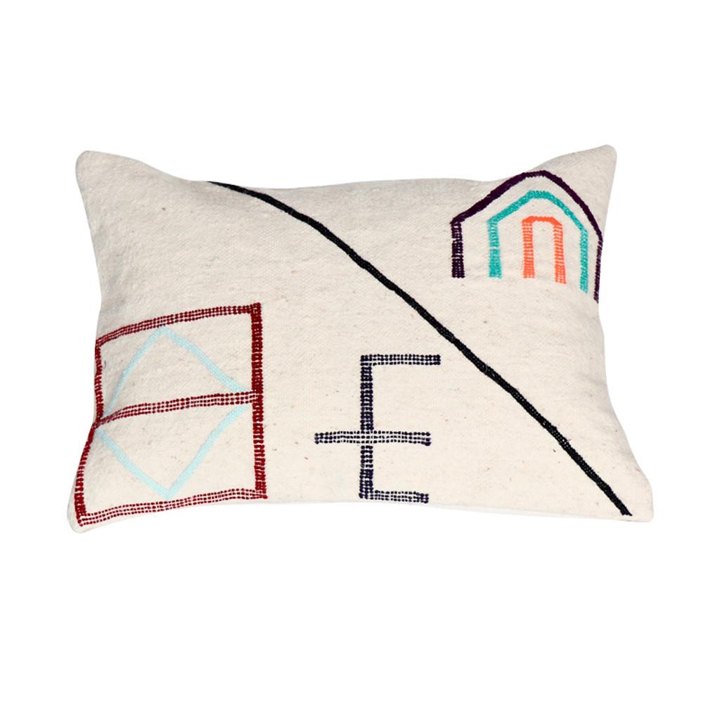 Beni Ourain Rug Pillow-  Marrakech