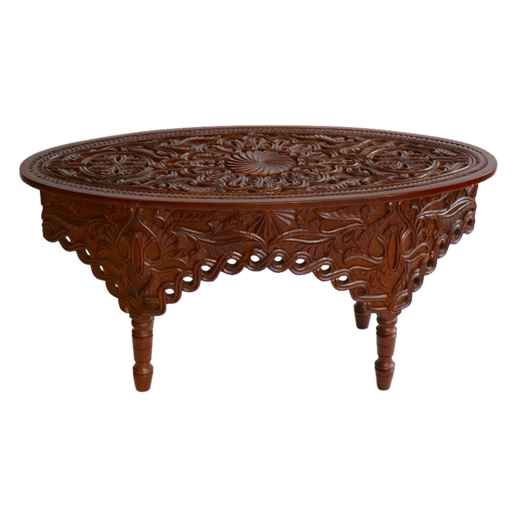 Moroccan Handcarved coffee Table