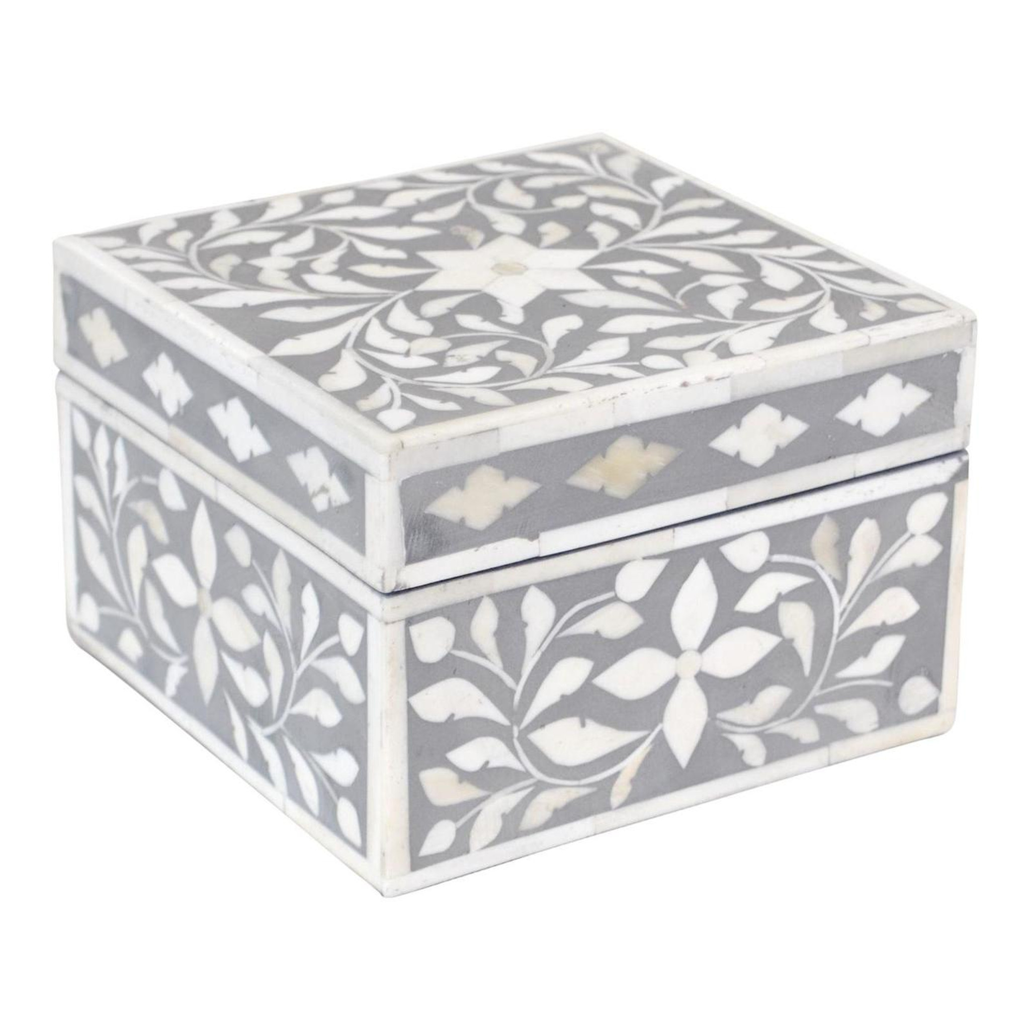 Jewelry Box Indian Grey Sheherazade