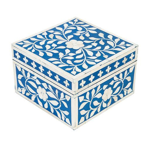 Jewelry Box Indian Blue