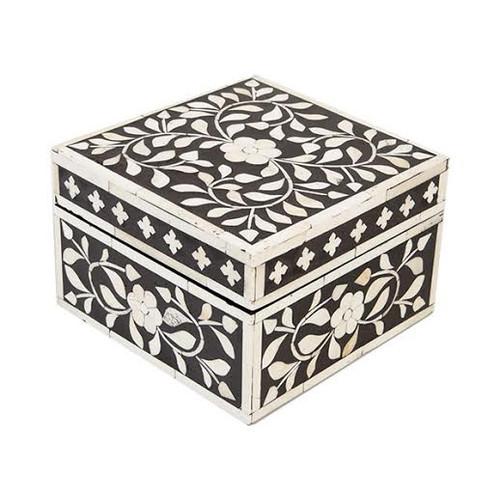 Indian Jewelry Box / Black