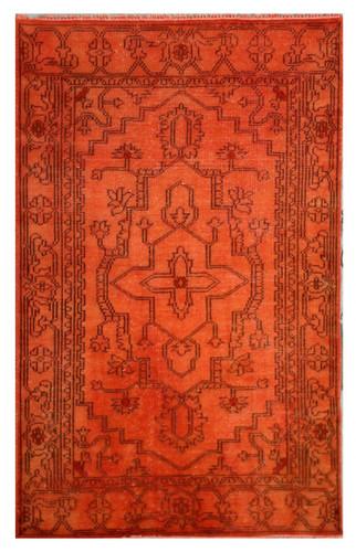 Over-dyed Rug, Orange 6'x 9'