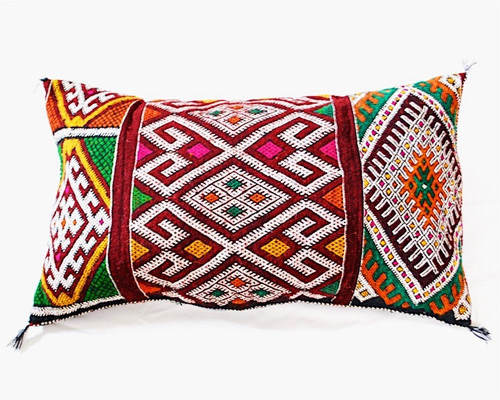 Moroccan Berber Kilim Throw Pilow
