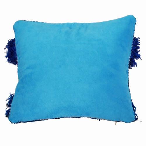 Moroccan Wedding Blanket Throw Pillow