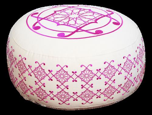 Selima Floor Pillow, Pink
