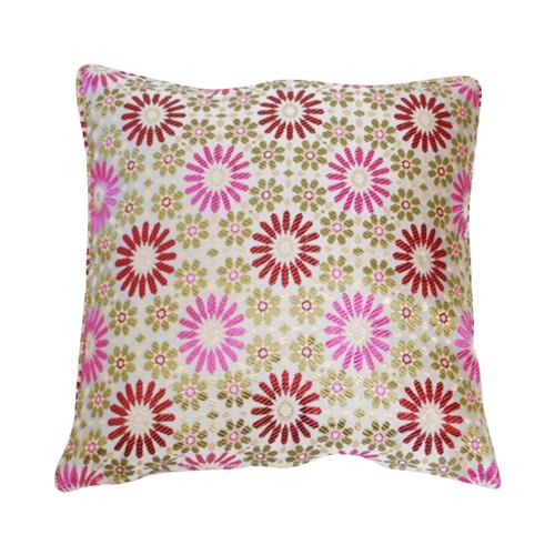 Moroccan Zellij Fabric , Pink