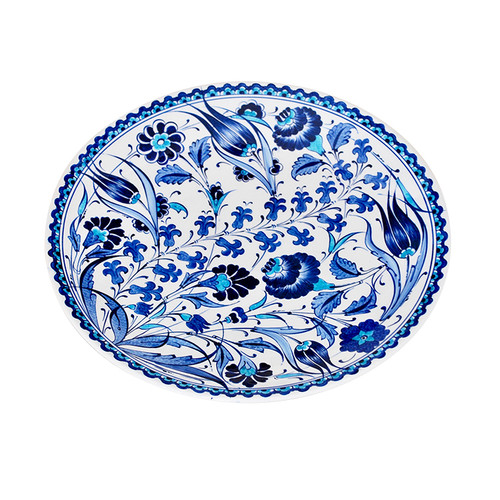 Turkish Iznik Plate- T62