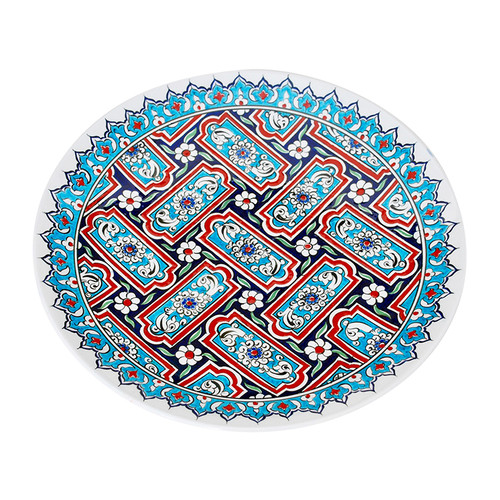 Turkish Iznik Ceramic Plate- T65
