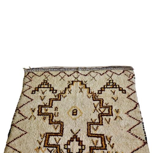 """Vintage Moroccan Rug 48"""" x 89"""""""