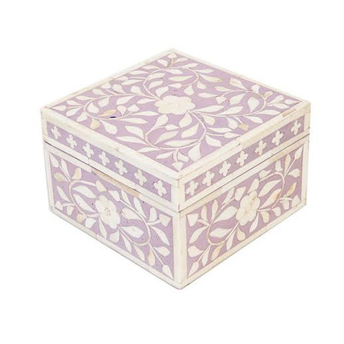 Jewelry Box Indian- Purple