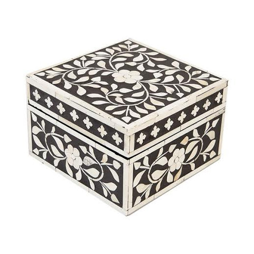 Indian Jewelry Box / Black