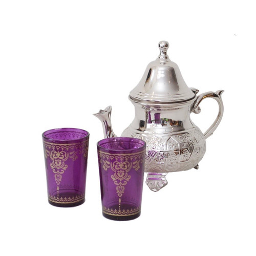 Moroccan Silver Tea Pot