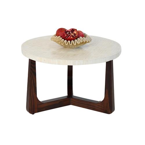 R70 Bone Inlay Coffee Table, Natural 22