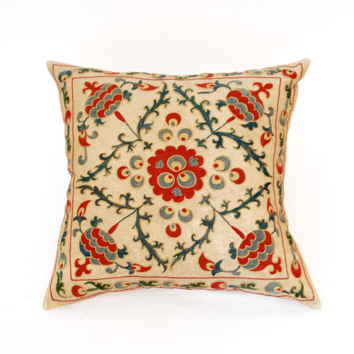 Suzani Pillow, Chintamani
