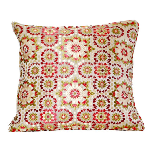 Moroccan Zellij Fabric , Red