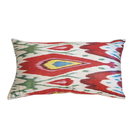 Ikat Silk Pillow