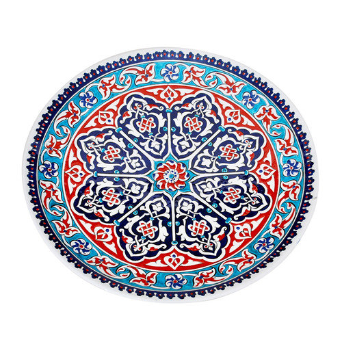 Turkish Iznik plate -T60
