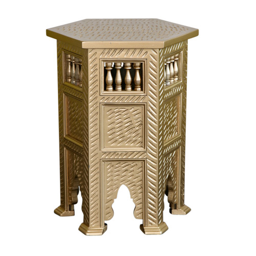 Moroccan Gold Side table