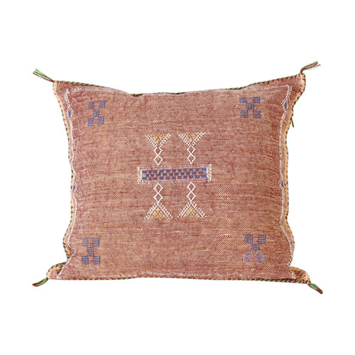 Sabra Silk Pillow - Sahara