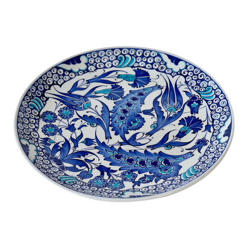 Turkish Iznik Plate- T68