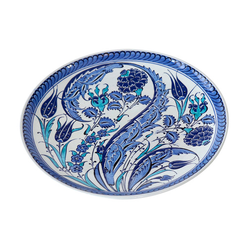 Turkish Iznik Plate- T69