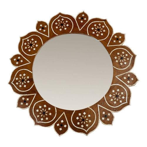 Flora Bone Inlay Mirror