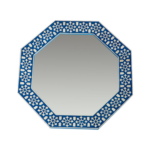Arabesque Bone Inlay Mirror