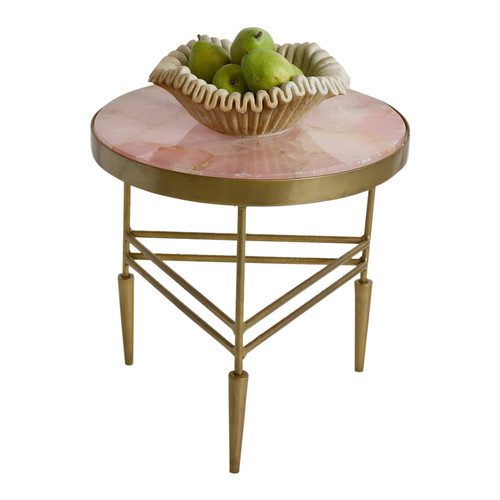 Rose Quartz Side Table